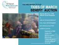 Tides of March - Port Townsend Marine Science Center