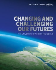 Changing and Challenging Our Futures (PDF ... - University of York