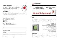 BLS-AED-GRUNDKURS - katholische Kirchgemeinde Langenthal
