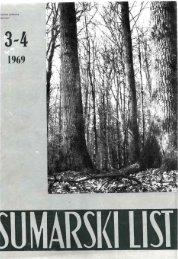 ÅUMARSKI LIST 3-4/1969