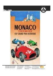 GP Historique Monaco - Sektion beider Basel