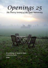 Openings 25 - OU Poets