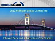 Infrared Deck and Substructure Case Studies