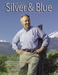 Nevada Silver & Blue: July August 2005 - University of Nevada, Reno