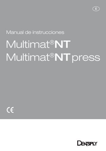 Multimat®NT Multimat®NT press - DeguDent
