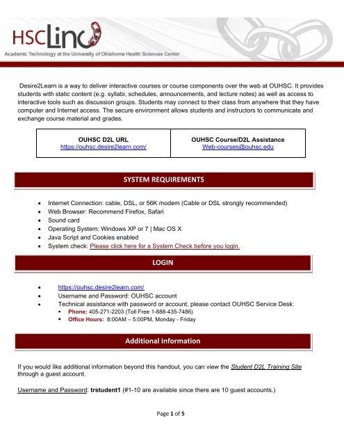 D2L Student Resources