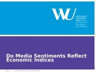 Do Media Sentiments Reflect Economic Indices - Institute for ...