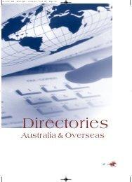 Directories - Australian Racing Board