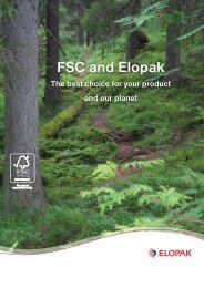 FSC and Elopak