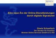 Eine neue Ära der Online-Dienstleistungen durch digitale Signaturen