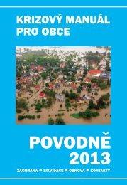 Povodně 2013 - Příručka pro starosty postižených obcí v tiskové kvalitě