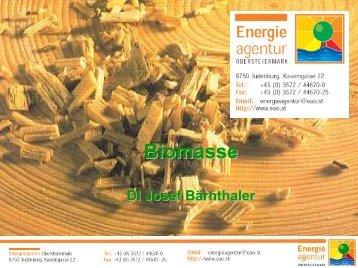 Alternative Brennstoffe