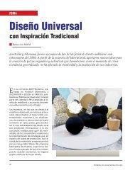 Feria Diseño Universal con Inspiración Tradicional - Revista El ...