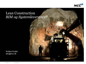 Forside Undertitel - Lean Construction