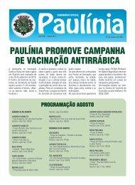 paulínia promove campanha de vacinação antirrábica - Prefeitura ...