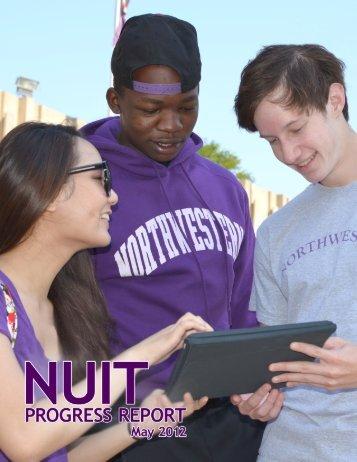 NUIT Progress Report May 2012 - Northwestern University ...
