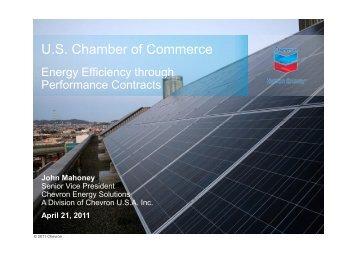 John Mahoney - US Chamber of Commerce