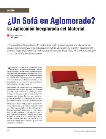 Diseño ¿Un Sofá en Aglomerado? - Revista El Mueble y La Madera