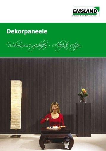 Edelholzpaneele Dekorpaneele Edelholzboden ... - emsland-paneele