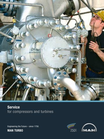 Service for compressors and turbines - MAN Diesel & Turbo