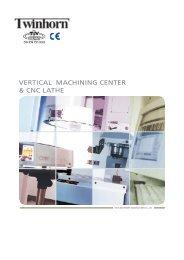 VERTICAL MACHINING CENTER & CNC LATHE