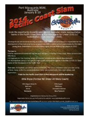 BB Pacific Trials Inform Central 2014 - Basketball New Zealand