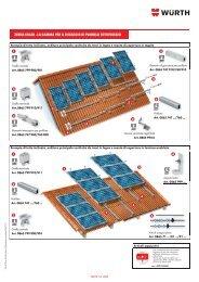 zebra solar - la gamma per il fissaggio di pannelli fotovoltaici - Soledil