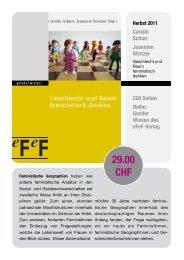 29.00 CHF - AK Geographie und Geschlecht