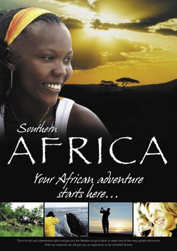 Your African adventure starts here... - SW Africa