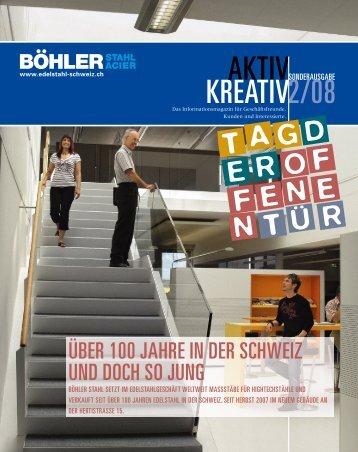 AKTIV KREATIV 2/08 - böhler-uddeholm schweiz ag