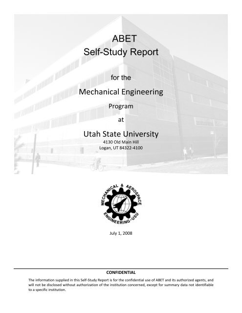 ABET Self-Study Report - Mechanical and Aerospace ... on