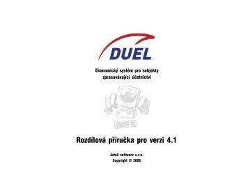 Rozdílová příručka DUEL 4.1 - Ježek software