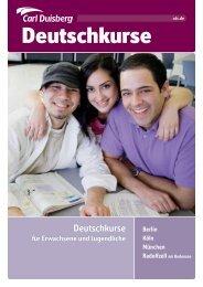 Berlin Köln München Radolfzell am Bodensee Deutschkurse für ...