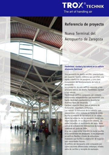 Ampliación Aeropuerto de Zaragoza - Trox