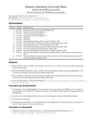 Netzwerkanalyse für Politikwissenschaftler - Kai Arzheimer