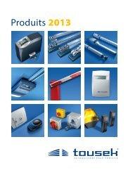 Produits 2012 - tousek GmbH