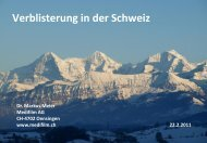 Verblisterung in der Schweiz Dr. Markus Meier Medifilm AG ... - BVKA