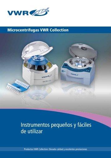 Instrumentos pequeños y fáciles de utilizar - Vwr-cmd.com