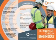 WWU Careers Leaflet - Our Home Page