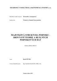 majetková struktura podniku - Index of - Soukromá vysoká škola ...