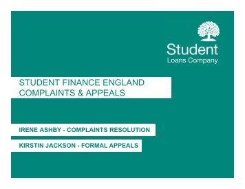 Managing Complaints & Appeals - HEI Services - Student Loans ...