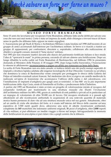 MUSEO FORTE BRAMAFAM - Qattara