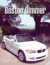 July 2008 - Boston Chapter BMW CCA
