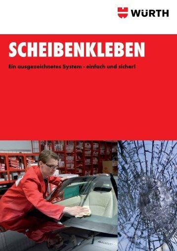 Scheibenkleben Broschüre - Würth