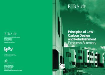 Principles of Low Carbon Design and ... - Masonryfirst.com