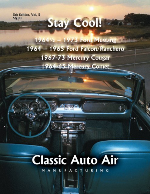 1964-65 Ford Falcon Mercury Comet HI-PO A//C EVAPORATOR AC Air Conditioning
