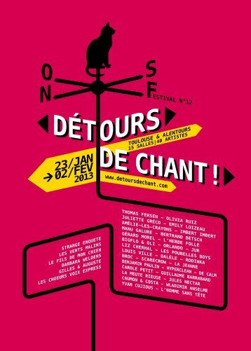 Télécharger le programme (.pdf) - Toulouse cultures - Mairie de ...
