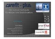 (Microsoft PowerPoint - carefit - plus Einheit 3 f ... - Praxis praevital