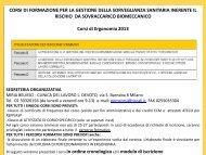 Percorsi Formativi 2013