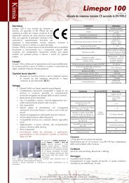 Limepor 100 K im ia - Kimia SpA